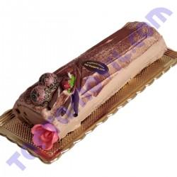 Brazo de trufa de chocolate