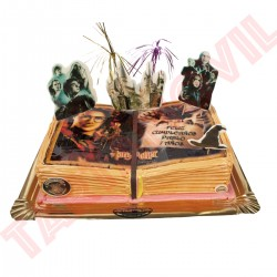 Tarta Libro de Harry Potter