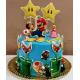 Tarta de Mario y sus amigos