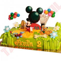 Tarta Mickey Mousse