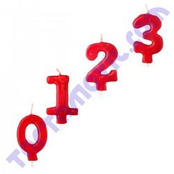 Vela de numero