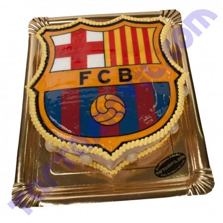 Tarta con Forma de ESCUDO Equipo de Futbol