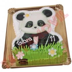 Tarta con forma Osito Panda