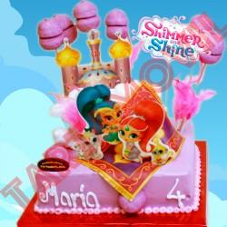 Tarta de Shimmer y shine