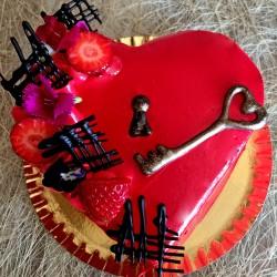 Mini tarta Corazón
