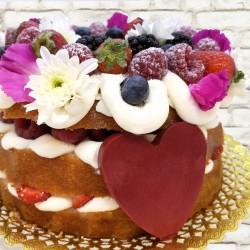 Nake de Yogur y frutos rojos