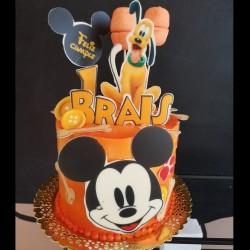 Tarta de Mickey y Pluto