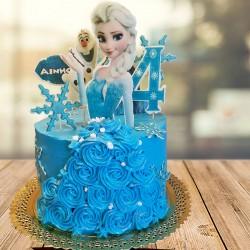 Tarta Elsa Frozen 2
