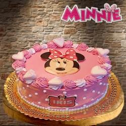 Tarta Minnie simple