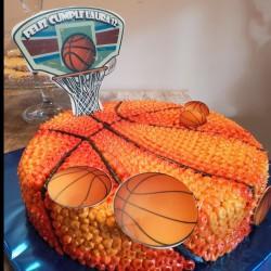 Tarta Baloncesto