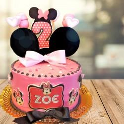 Tarta Minnie Zoe