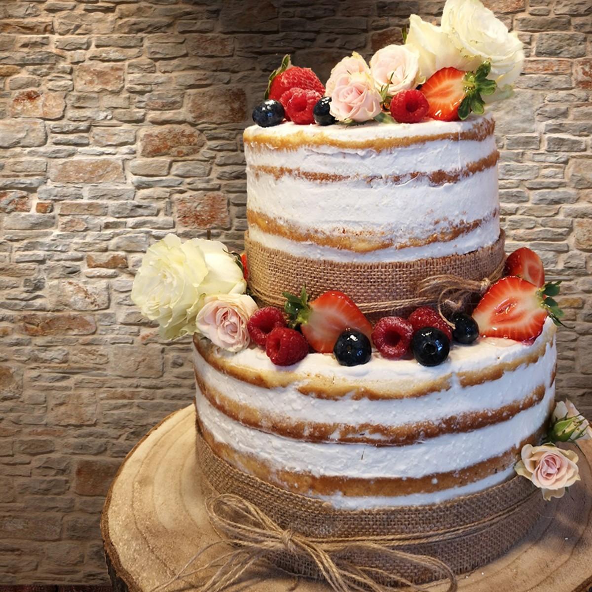 La Cuchara de Mermelada: Tarta Naked Cake de frutos del