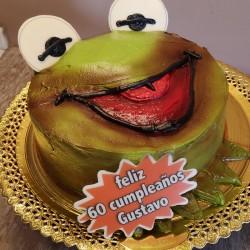 Tarta de la rana Gustavo