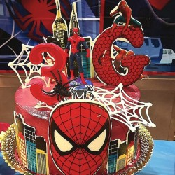 Tarta de Super Spiderman
