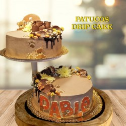 Tarta Drip Cake Patuquitos
