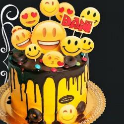 Tarta Emoji Smiley