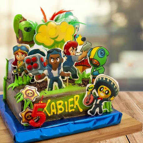 Tarta de Brawl Star