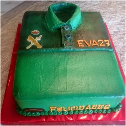 Tarta uniforme Guardia Civil
